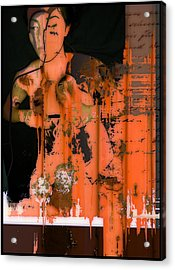 Body Of Rust Acrylic Print by Adam Kissel