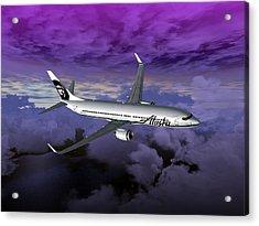 Boeing 737 Ng 001 Acrylic Print