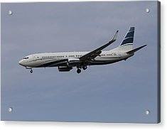 Boeing 737 Private Jet Acrylic Print