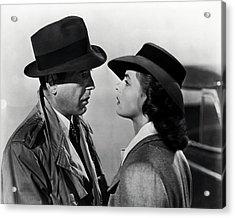 Bogey And Bergman Casablanca  1942 Acrylic Print
