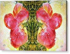 Bogomil Anniversary Flower - Digital Acrylic Print by Otto Rapp