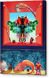 Bogomils Ceremonial Stage Acrylic Print by Otto Rapp