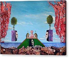 Bogomils Monastic Retreat Acrylic Print by Otto Rapp