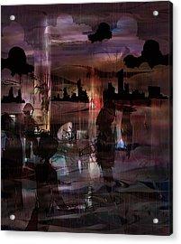 BOH Acrylic Print by Rachel Christine Nowicki