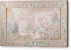 Bohemian Grove Bar Acrylic Print