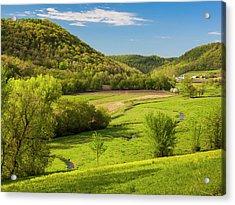 Bohemian Valley Acrylic Print