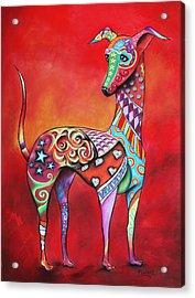 Italian Greyhound  Acrylic Print