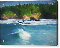 Boiler Bay Blues Acrylic Print