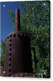 Boiler Head Acrylic Print by The Stone Age