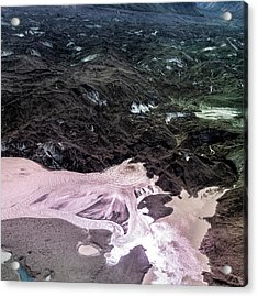 Acrylic Print featuring the photograph Boiling Water by Fred Denner