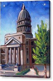 Boise Capitol Building 01 Acrylic Print