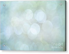Acrylic Print featuring the photograph Bokeh Clouds by Jan Bickerton
