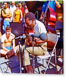 Bola Sete Live At Seward Park Acrylic Print by Tim Coleman