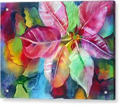 Bold Bloom Acrylic Print by Maritza Bermudez
