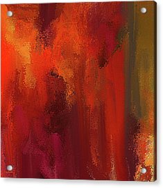 Bold Colors Abstract Art Acrylic Print by Lourry Legarde