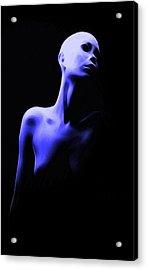 Bold Girl Acrylic Print by Steve K