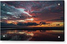 Bold Sunrise Delray Beach Florida Acrylic Print