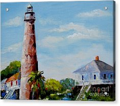 Bolivar Lighthouse Acrylic Print