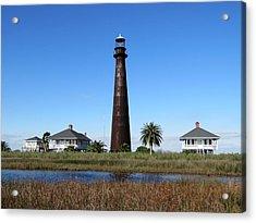 Bolivar Point Lighthouse Acrylic Print