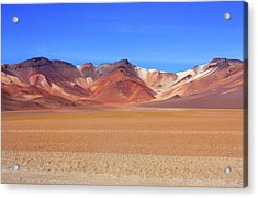 Acrylic Print featuring the photograph Bolivian Altiplano  by Aidan Moran