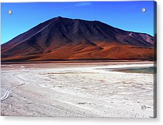 Acrylic Print featuring the photograph Bolivian Altiplano, South America by Aidan Moran