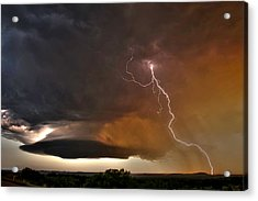 Bolt From The Heavens. Acrylic Print