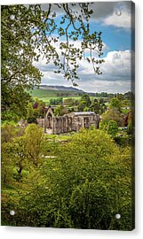 Bolton Priory In Springtime Acrylic Print