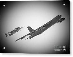 Bomber Pair Acrylic Print by Bob Mintie