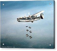 Bombs Away Acrylic Print by Marc Stewart