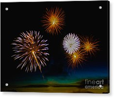 Bombs Bursting In The Air Acrylic Print by Robert Bales