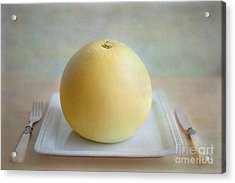 Acrylic Print featuring the photograph Bon Appetit by Aiolos Greek Collections