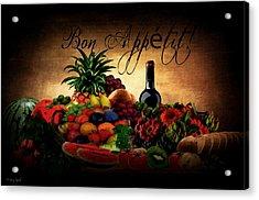 Bon Appetit Acrylic Print