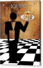 Bon Appetit Acrylic Print by Marvin Blaine