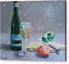 Bon Appetite Acrylic Print by Paul Walsh