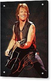 Bon Jovi Acrylic Print