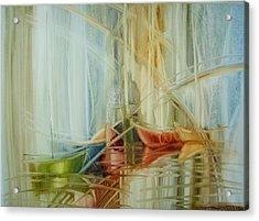 Bon Voyage Acrylic Print by Fatima Stamato