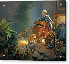 Acrylic Print featuring the painting Bon Voyage by Greg Olsen