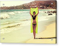 Bond Girl Laguna Beach Acrylic Print