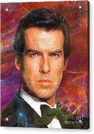 Bond - James Bond 5 Acrylic Print by John Robert Beck