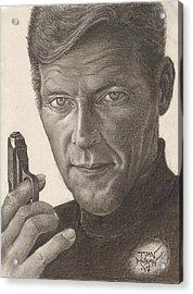 Bond Portrait Acrylic Print