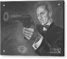 Bond Portrait Number 3 Acrylic Print