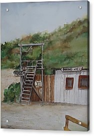 Bondad Colorado Jail Acrylic Print by Charme Curtin