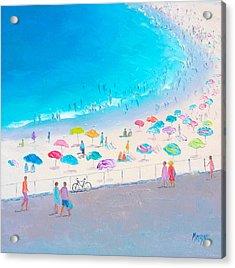 Bondi Beach In January Acrylic Print