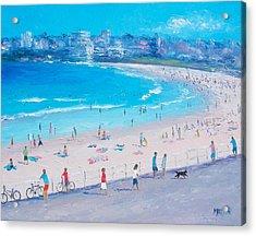 Bondi Beach Summer Acrylic Print by Jan Matson