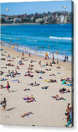 Bondi People Acrylic Print