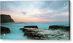 Acrylic Print featuring the photograph Bonny Doon by Catherine Lau