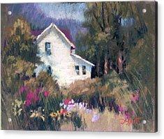 Bonny Garden Acrylic Print by Donna Shortt