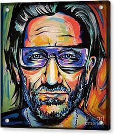 Bono Acrylic Print by Amy Belonio