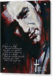 Bono - Man Behind The Songs Of Innocence Acrylic Print