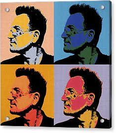 Bono Pop Panels Acrylic Print